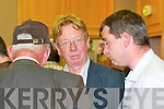 1407-1408.John ODonoghues Press Executive Dan Collins discusses the count with Fine Gaels Tom Sheehan at the South Kerry count in The Malton Hotel, Killarney, last Friday..