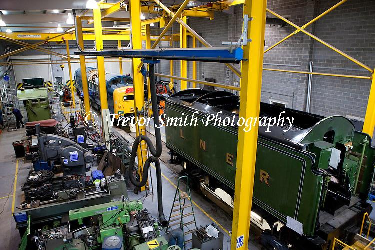Engineering workshop at the National Railway Museum in York