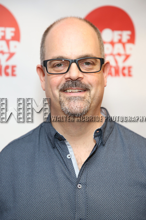 Brad Oscar attends the 7th Annual Off Broadway Alliance Awards at Sardi's on June 20, 2017 in New York City.