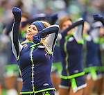 Seattle Seagals perform during the Seahawks  during their game against the St. Louis Rams at CenturyLink Field in Seattle, Washington on December 29, 2013.  Seahawks clinched the NFC West title and home-field advantage throughout the playoffs with a 27-9 victory over the St. Louis Rams.   ©2013. Jim Bryant Photo. ALL RIGHTS RESERVED.