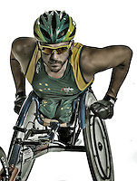 Kurt Fearnley (AUS)<br /> Paralympic Portraits -  Athlete <br /> Sydney Australia 2012<br /> London 2012 Paralympic Games<br /> &copy; Sport the library / Jeff Crow