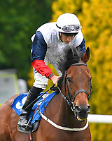 Camakasi ridden by Tom Marquand goes down to the start of The DEOS Group Handicap during Evening Racing at Salisbury Racecourse on 11th June 2019