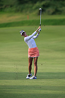 Jessica Korda (USA) in action on the 1st during Round 3 of the HSBC Womens Champions 2018 at Sentosa Golf Club on the Saturday 3rd March 2018.<br /> Picture:  Thos Caffrey / www.golffile.ie<br /> <br /> All photo usage must carry mandatory copyright credit (&copy; Golffile | Thos Caffrey)