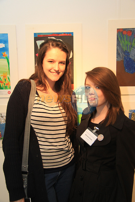 Leah Rossiter and Michaela Stowe at the Highlanes..Picture: Shane Maguire / www.newsfile.ie.