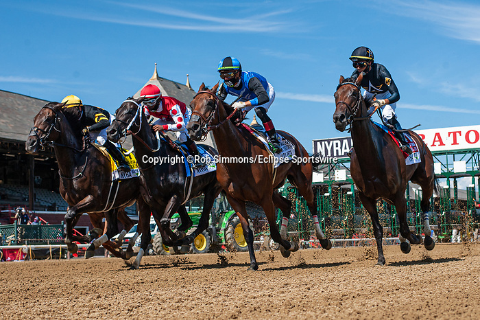 August 1, 2020:  VEXATIOUS #4, ridden by Jose Lezcano, trained by Jack Sisterson wins the The Personal Ensign  on Whitney Day at Saratoga Race Course in Saratoga Springs, New York. Rob Simmons/CSM