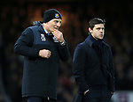 West Ham's Slaven Bilic looks on with Tottenham's Mauricio Pochettino<br /> <br /> - English Premier League - West Ham Utd vs Tottenham  Hotspur - Upton Park Stadium - London - England - 2nd March 2016 - Pic David Klein/Sportimage
