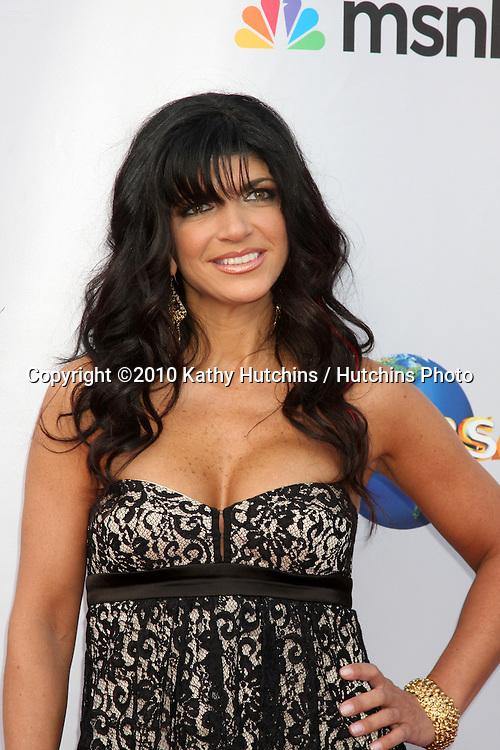 "Teresa Giudice.arrives at ""An Evening with NBC Universal"" 2010.Universal Studios Hollywood.Los Angeles, CA.May 12, 2010.©2010 Kathy Hutchins / Hutchins Photo.."