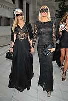 Paris Hilton and Caroline Stanbury at the Cash & Rocket Masquerade Ball 2019, Victoria and Albert Museum, Cromwell Road, London, England, UK, on Wednesday 05th June 2019.<br /> CAP/CAN<br /> ©CAN/Capital Pictures