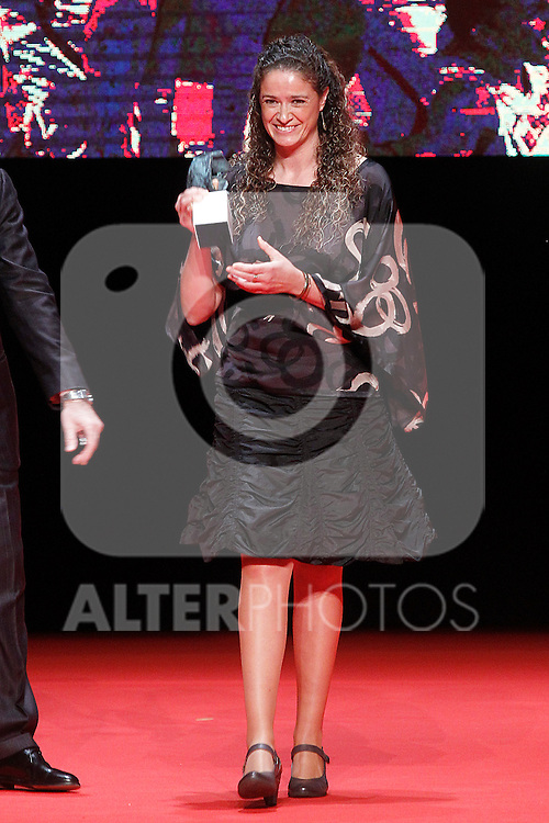 Spanish basketball player Isabel Sanchez during 37 Sport Gala - National Sports Awards 2017. March 6,2017. (ALTERPHOTOS/Acero)