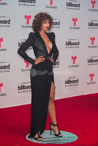 CORAL GABLES, FL - APRIL 27:  Jackie Cruz attends the Billboard Latin Music Awards at Watsco Center in Coral Gables, Florida on April 15, 2017. Credit: Aaron Gilbert/MediaPunch