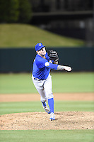 ***Temporary Unedited Reference File***Omaha Storm Chasers relief pitcher Peter Moylan (47) during a game against the Memphis Redbirds on May 5, 2016 at AutoZone Park in Memphis, Tennessee.  Omaha defeated Memphis 5-3.  (Mike Janes/Four Seam Images)