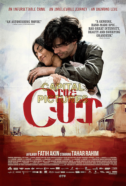 THE CUT (2015)<br /> AMERICAN POSTER<br /> *Filmstill - Editorial Use Only*<br /> CAP/FB<br /> Image supplied by Capital Pictures