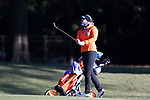 WILMINGTON, NC - OCTOBER 27: Florida's Marta Perez (ESP) on the 11th hole. The first round of the Landfall Tradition Women's Golf Tournament was held on October 27, 2017 at the Pete Dye Course at the Country Club of Landfall in Wilmington, NC.