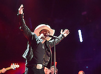 10 June 2016 - Nashville, Tennessee - Justin Moore. 2016 CMA Music Festival Nightly Concert held at Nissan Stadium. Photo Credit: Laura Farr/AdMedia
