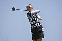 Nelly Korda (USA) watches her tee shot on 8 during round 1 of the 2019 US Women's Open, Charleston Country Club, Charleston, South Carolina,  USA. 5/30/2019.<br /> Picture: Golffile | Ken Murray<br /> <br /> All photo usage must carry mandatory copyright credit (© Golffile | Ken Murray)