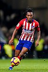 Gelson Martins of Atletico de Madrid in action during the La Liga 2018-19 match between Atletico de Madrid and RCD Espanyol at Wanda Metropolitano on December 22 2018 in Madrid, Spain. Photo by Diego Souto / Power Sport Images
