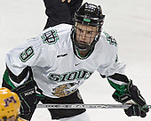Jonathan Toews - The University of Minnesota Golden Gophers defeated the University of North Dakota Fighting Sioux 4-3 on Friday, December 9, 2005, at Ralph Engelstad Arena in Grand Forks, North Dakota.
