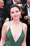 """72nd edition of the Cannes Film Festival in Cannes in Cannes, southern France on May 21, 2019. Red Carpet for the screening of the film """"Once Upon a Time... in Hollywood"""" French actress Virginie Ledoyen on the red carpet.<br /> © Pierre Teyssot / Maxppp"""