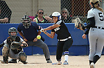 Western Nevada's Gabrielle Canibeyaz hits a walkoff single in extra innings to give the Wildcats a 5-4 victory over College of Southern Idaho at the Edmonds Sports Complex in Carson City, Nev., on Friday, April 8, 2016. <br />