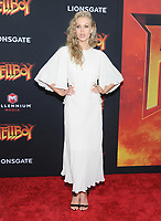 NEW YORK, NEW YORK - APRIL 09: Penelope Mitchell attends the 'Hellboy' New York Screening at AMC Lincoln Square Theater on April 09, 2019 in New York City.  <br /> CAP/MPI/JP<br /> ©JP/MPI/Capital Pictures