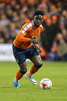 Pelly Ruddock Mpanzu of Luton Town during the Sky Bet League 2 Play Off Semi Final 2 leg match between Luton Town and Blackpool at Kenilworth Road, Luton, England on 18 May 2017. Photo by David Horn.