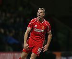 Jordan Henderson of Liverpool - FA Cup Fourth Round replay - Bolton Wanderers vs Liverpool - Macron Stadium  - Bolton - England - 4th February 2015 - Picture Simon Bellis/Sportimage