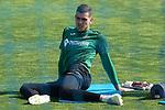 Getafe's Dario Ramos during training session. May 25,2020.(ALTERPHOTOS/Acero)
