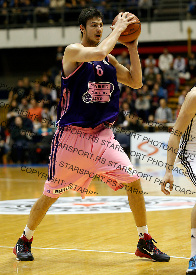 ABA liga, Partizan - Mega Leks, Beograd, Srbija, 7.12.2014 (credit image & photo: Pedja Milosavljevic / STARSPORT). © 2014 Pedja Milosavljevic / +318 64 1260 959 / thepedja@gmail.com