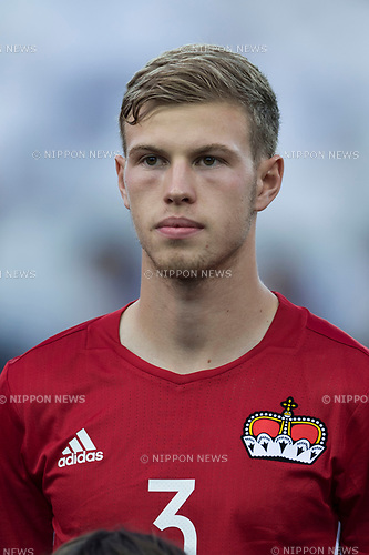 Max Goppel (LIE), JUNE 11, 2017 - Football / Soccer : FIFA World Cup Russia 2018 European Qualifier Group G match between Italy 5-0 Liechtenstein at Dacia Arena in Udine, Italy. (Photo by Maurizio Borsari/AFLO)