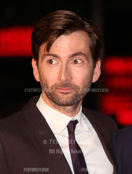 David Tennant arriving for the Nativity 2: Danger In The Manger Premiere, at Empire Leicester Square, London. 13/11/2012 Picture by: Alexandra Glen / Featureflash