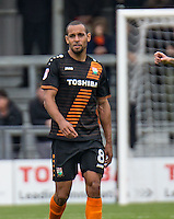 Goal scorer Curtis Weston of Barnet during the EFL Sky Bet League 2 match between Barnet and Colchester United at The Hive, London, England on the 17th September 2016. Photo by Liam McAvoy.