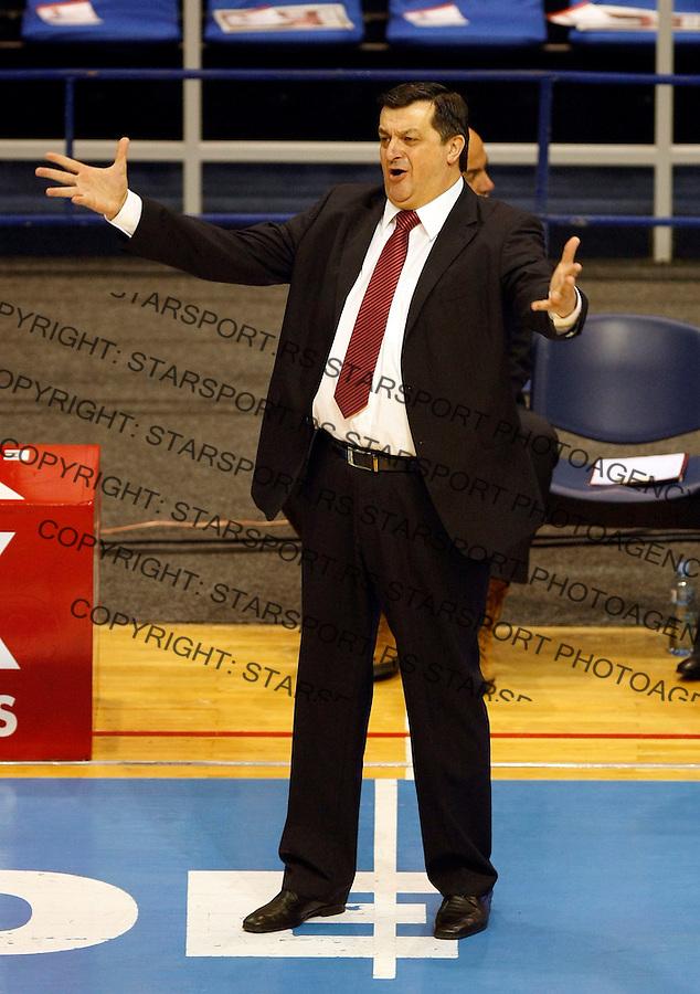 Kosarka, EUROCUP, sezona 2009/2010.Crvena Zvezda Vs. Dinamo (Moscow).Head coach Aco Petrovic.Belgrade, 24.11.2009..foto: Srdjan Stevanovic/Starsportphoto ©