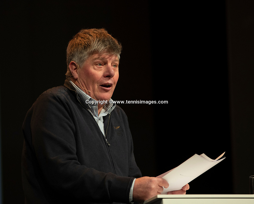 Nieuwegein, Netherlands, November 23,  2019, MBC Congrescentrum, KNLTB Year Congres , Frans Miggelbrink <br /> Photo: Tennisimages/Henk Koster