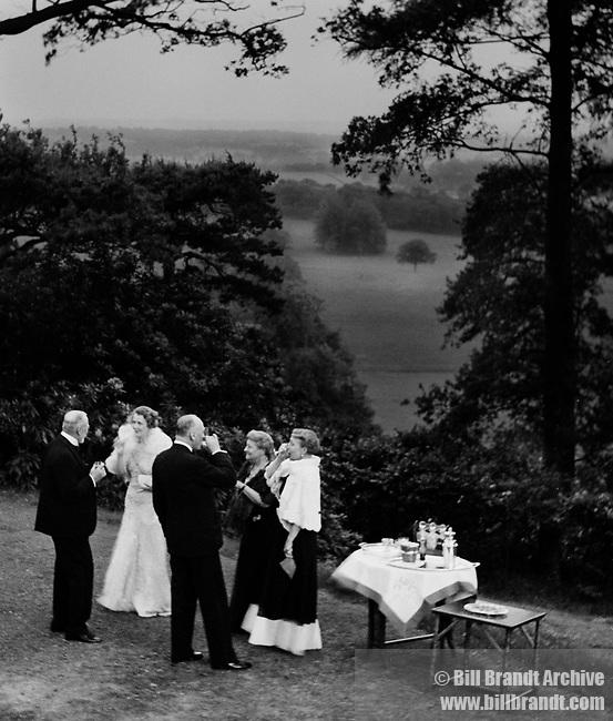 Cocktails in a Surrey Garden 1935
