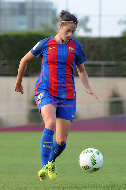 Spanish Women's Football League Iberdrola 2016/17 - Game: 11.<br /> FC Barcelona vs Athletic Club: 2-1.<br /> Marta Torrejon.
