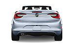 Straight rear view of 2016 Buick Cascada Premium 2 Door Convertible Rear View  stock images