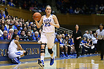 22 November 2015: Duke's Rebecca Greenwell. The Duke University Blue Devils hosted the United States Military Academy at West Point Army Black Knights at Cameron Indoor Stadium in Durham, North Carolina in a 2015-16 NCAA Women's Basketball Exhibition game. Duke won the game 72-61.