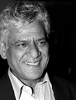 Montreal, August 27, 2000<br /> Indian actor Om Puri was the subject of a tribute by the World Film Festival (Montreal, Canada) for his incredible career as an actor.<br /> Photo by Pierre Roussel / Newsmakers