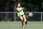 CARY, NC - JUNE 01: Samantha Witteman. The North Carolina Courage held a training session on June 1, 2017, at WakeMed Soccer Park Field 7 in Cary, NC.