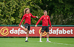 081018 Wales football training for Spain fixture