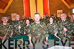 The band of the first Southern Brigade Collins Barracks Cork performing at Muckross Church for the pupils of Loughittane National School  last Thursday led by Company Sgt Noel Galvin.