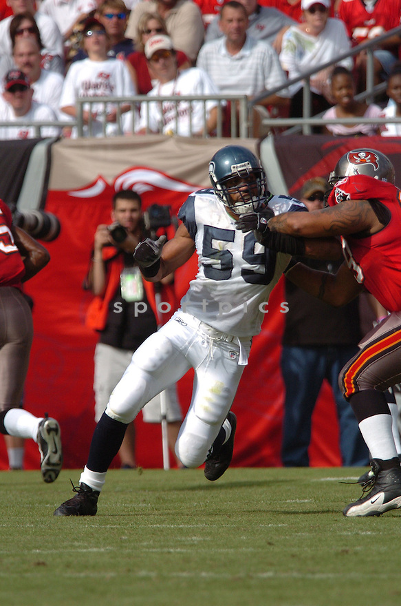 JULIAN PETERSON, of the Seattle Seahawks, during their game  against the Tampa Bay Buccaneers on December 31, 2006 in Tampa Bay, FL...Seattle wins 23-7...TOMASSO DEROSA/ SPORTPICS