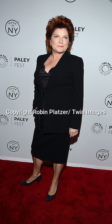 "Kate Mulgrew attends the PaleyFest: Made in NY ""Orange Is the New Black""  panel at the Paley Center for Media on October 2, 2013 in New York City."