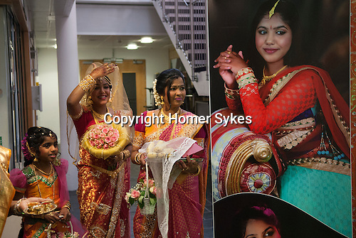 Hindu Hindu puberty coming of age party, Mitcham London 2016