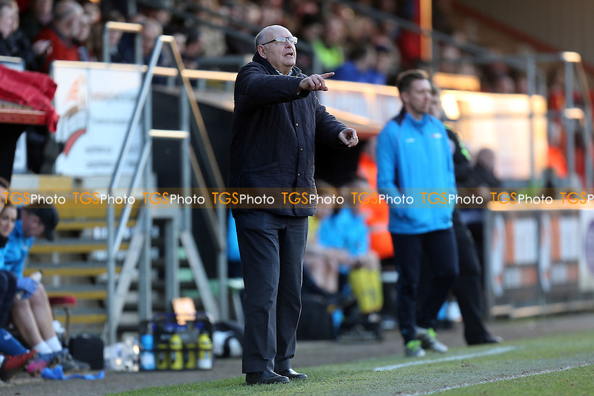 Dagenham manager John Still during Dagenham & Redbridge vs Guiseley, Vanarama National League Football at the Chigwell Construction Stadium on 18th February 2017