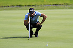Gareth Maybin (NIR) lines up his putt on the 11th green during Day 2 of the BMW International Open at Golf Club Munchen Eichenried, Germany, 24th June 2011 (Photo Eoin Clarke/www.golffile.ie)