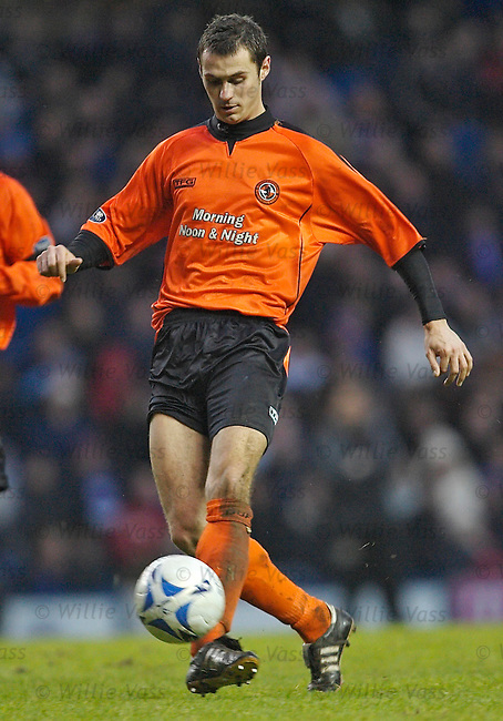 David McCracken, Dundee Utd.stock season 2005-2006.pic willie vass