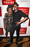 Tonya Pinkins and Wood Harris .attending the Broadway Opening Night After Party for 'A Streetcar Named Desire' on 4/22/2012 at the Copacabana in New York City.