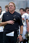 Palos Verdes, CA 11/10/11 - Coach Kevin Moen at the Peninsula-Palos Verdes varsity football game.