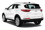 Car pictures of rear three quarter view of 2016 KIA Sportage Sense 5 Door Suv Angular Rear